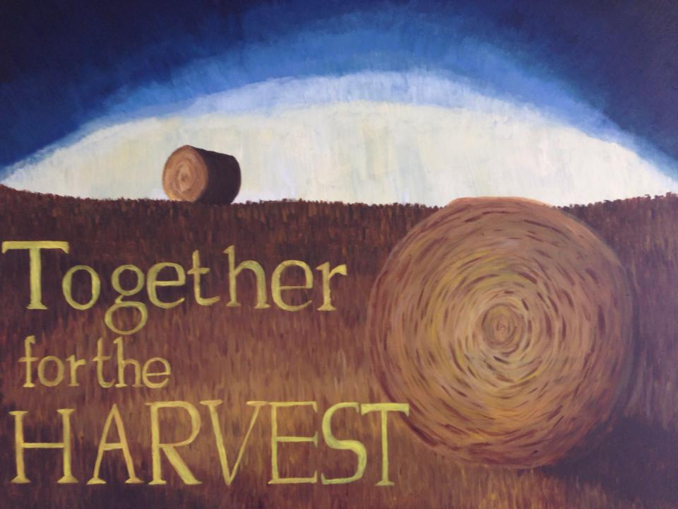 together for the harvest